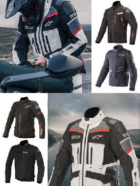 Motorcycle jackets textile