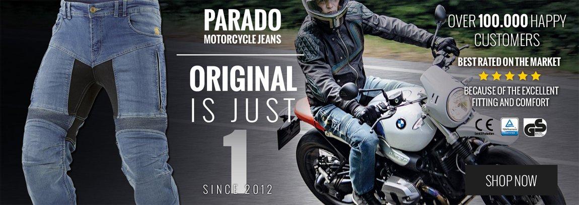 Parado Motorcycle Jeans by Trilobite