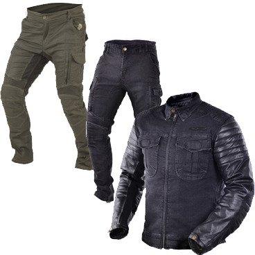 Acid Scrambler Motorcycle jeans by Trilobite