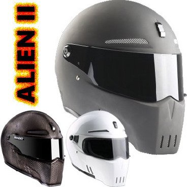 Alien 2 Full Face helmet with ECE