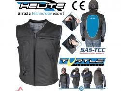 Airbag vests and airbag jackets