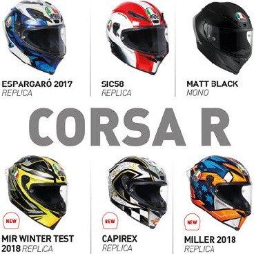Corsa R Full Face Helmets
