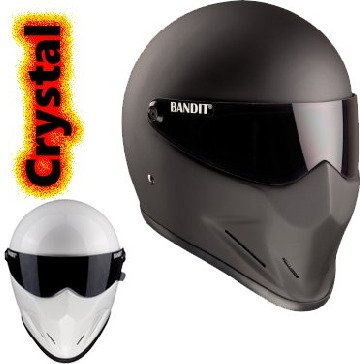 Crystal Full Face helmet without ECE