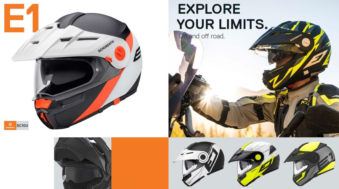 E1 Folding Helmets