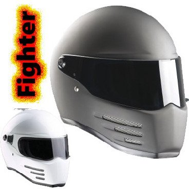 FIGHTER Full Face helmet with ECE