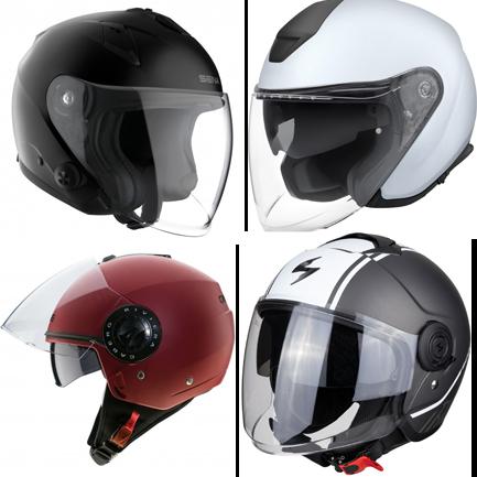 Jet Helmets with Visor