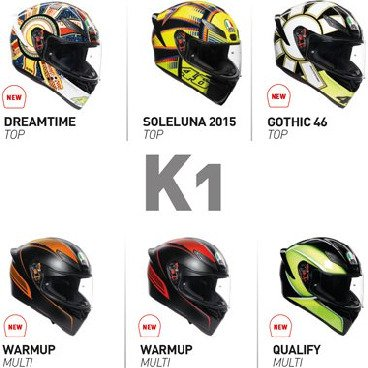 K-1 Full Face Helmets