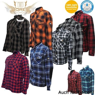 Bores Lumberjack Motorcycle shirts