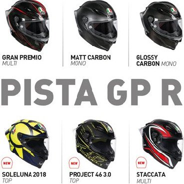 Pista GP R Full Face Helmets