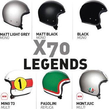 X70 Jet Helmets
