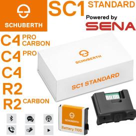 Schuberth Communication System SC1 STANDARD for C4 / C4 Pro / C4 Pro Carbon / R2 / R2 Carbon Helmets