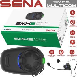 Sena headset SMH5 MULTICOM single set Bluetooth simple extension 4-way intercom 700m